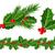 yaprakları · kırmızı · karpuzu · Noel · dekorasyon · vektör - stok fotoğraf © g215