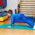 Child is therapeutic exercises in the gym stock photo © g215