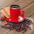 кофе · красный · Кубок · корицей · анис · звезды - Сток-фото © g215