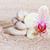 orkide · zen · taşlar · kum · plaj · çiçek - stok fotoğraf © g215