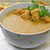 chanterelle soup puree served with croutons stock photo © g215