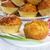 segurelha · cebolinha · comida · queijo - foto stock © g215