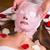 bella · donna · bella · giovane · ragazza · maschera · professionali · salute - foto d'archivio © gabor_galovtsik