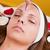 sopracciglio · donna · mano · faccia · sfondo · bellezza - foto d'archivio © gabor_galovtsik