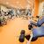 fitness · ferramentas · crossfit · ginásio · peso · lazer - foto stock © gabor_galovtsik