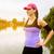 lopen · vrouw · runner · pier - stockfoto © gabor_galovtsik