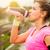 lopen · vrouw · drinkwater · lopen · sport - stockfoto © gabor_galovtsik