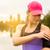 Runner · женщину · музыку · запустить · телефон · воды - Сток-фото © gabor_galovtsik