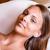 gezicht · schoonmaken · zomersproeten · vrouw · cosmetische · behandeling - stockfoto © gabor_galovtsik