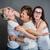 gelukkig · gezin · familie · meisje · handen · liefde - stockfoto © gabor_galovtsik