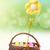 Pasen · kleurrijk · paaseieren · kunstmatig · bloem · mand - stockfoto © gabor_galovtsik