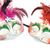 Two Carnival mask with feathers and diamond  stock photo © gavran333