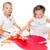 glücklich · Vorschule · Alter · Kinder · spielen · farbenreich - stock foto © gekaskr