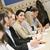 arbeiten · Essay · Klassenzimmer · Frau · glücklich - stock foto © gemenacom