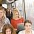 ciddi · kadın · otobüs · bilgisayar · pencere · kızlar - stok fotoğraf © gemenacom
