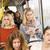 kadın · otobüs · okuma · kitap · kadın · kızlar - stok fotoğraf © gemenacom