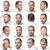 Sixteen facial expressions of a man stock photo © gemenacom