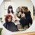 fodrászat · helyzet · mosoly · szék · tükör · tinédzser - stock fotó © gemenacom