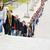 bekleme · hat · büyük · bir · grup · insanlar · kalabalık · çift - stok fotoğraf © gemenacom