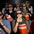 eating popcorn at the cinema stock photo © gemenacom