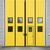 Geel · garage · deur · magazijn · gebouw · metaal - stockfoto © gemenacom