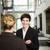 две · женщины · разговор · бизнеса · женщины · связи · успех - Сток-фото © gemenacom