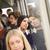 ciddi · kadın · otobüs · büyük · bir · grup · insanlar · pencere - stok fotoğraf © gemenacom