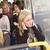 kadın · dinlemek · müzik · kızlar · zaman · otobüs - stok fotoğraf © gemenacom