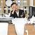 疲れ · 女性実業家 · 電話 · 肖像 · 白 · オフィス - ストックフォト © gemenacom