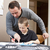 father helping son with homework stock photo © gemenacom
