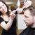 salão · de · cabeleireiro · situação · homem · projeto · homens · trabalhando - foto stock © gemenacom