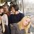 uyku · kadın · otobüs · kadın · zaman · iletişim - stok fotoğraf © gemenacom