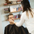 man · schoonheidssalon · jonge · man · vrouw · spiegel · vrouwelijke - stockfoto © gemenacom