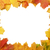 フレーム · 黄色 · メイプル · 葉 · 白 · 森林 - ストックフォト © GeniusKp