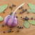 alho · pimenta · preta · folha · preto - foto stock © GeniusKp