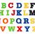 eğlence · yazılı · plastik · çocuklar · harfler - stok fotoğraf © geniuskp
