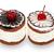 two chocolate cakes with cherry stock photo © geniuskp