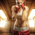 young women boxing exercise in the attic stock photo © geribody