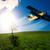 пропеллер · старые · исторический · самолета · двигатель · металл - Сток-фото © geribody