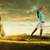 kadın · golfçü · güzel · genç · kadın · gülümseme · golf - stok fotoğraf © geribody