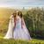 menyasszonyok · tiara · közelkép · pihen · cipők - stock fotó © geribody