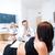 ciąży · ultradźwięk · lekarza · wyniki · kobieta · zdrowia - zdjęcia stock © Geribody