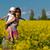 campo · cielo · nubes · flor · primavera · sol - foto stock © geribody