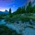 осень · пейзаж · луна · полнолуние · дерево - Сток-фото © geribody