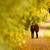dos · caminando · carretera · jóvenes · mujer · moda - foto stock © geribody
