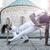 młodych · pary · capoeira · współpraca · spektakularny · sportu - zdjęcia stock © Geribody