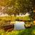 пейзаж · лодка · порт · рассвета · пляж - Сток-фото © geribody