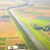 dutch landscape with straight canal from above stock photo © gigra