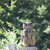Great Horned Owl with green tree background stock photo © gigra