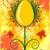 ovo · de · páscoa · vermelho · floral · elementos · páscoa · folha - foto stock © gintaras